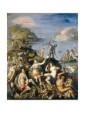 Allegory of the Discovery of America Art by Jacopo Zucchi
