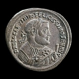 Coin with the Effigy of the Emperor Diocletian Photo