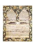Jewish Marriage Contract Print