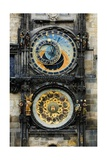 Astronomical Clock and Josef Manes' Calendar Prints by Josef Manes