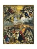 Dream of Philip II or the Triumph of the Holy League Prints by  El Greco