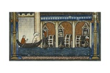 Paris in 1300S Print