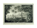 Anchorage of Umatac in Guam Island Prints by Fernando Brambila