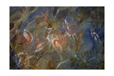 Paintings in Ana Kai Tangata Cave, of Sea Swallows Art