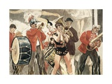 Orchestra of the Circus Prints by Jean Francois Raffaelli