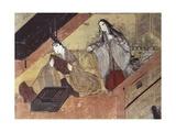 Jealousy Scene Prints by Fujiwara Takayoshi