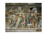 Apocalyptic Scene Poster von Lorenzo Di Pietro Vecchietta
