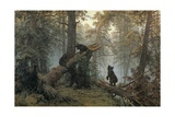Morning in a Pine Wood Posters by Ivan Ivanovich Schischkin