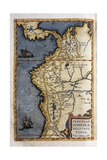 Map of Peru Giclee Print by Abraham Ortelius