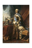 King Louis XV of France Posters by Jean Baptiste Van Loo