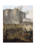 Storming of the Bastille, July 14th 1789 Prints by Jean Baptiste Lallemand