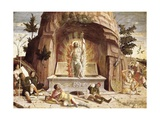 The Resurrection Print by Andrea Mantegna