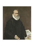 Doctor Rodrigo De La Fuente 1577- 1584 Poster by  El Greco