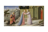 Annunciation Altarpiece Giclee Print by  Fra Angelico