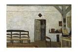 Misia in Villeneuve-Sur-Yonne Kunstdrucke von Edouard Vuillard
