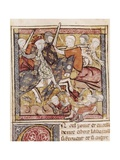 Battle of Bouvines 1214, Capture of Infante Fernando Poster