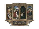 Life of the Virgin, High Altar of Munster Cathedral Giclee Print by Hans Baldung Grien
