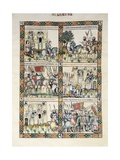 Assault on Chincoya Castle by King of Granada Print