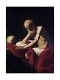 Saint Jerome Penitent Prints by  Caravaggio