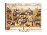 Battle Scene Posters by Rufus Quintus Curtius