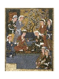 Court of a Safavid Dynasty Prince Posters