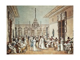 Cafe Frascati in Paris, Café and Games Room Prints by Philibert-Loui Debucourt
