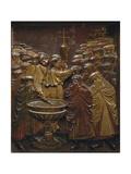 Conquest of Granada Print by Alonso Berruguete