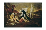 Tancred and Erminia Prints by Nicolas Poussin