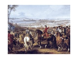 Battle of Lawfeld Prints by Pierre Lenfant