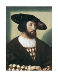 King Christian II of Denmark and Sweden (1481-1559) Giclee Print by Bernard van Orley