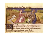 Meal in the Countryside Prints by Bonaccursius d Montemagn