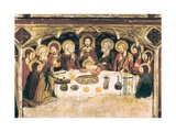 La última cena Last Supper Láminas por Jaume and Pere Serra