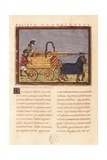 Roman Siege Machine on Wheeled Horse Cart Posters