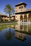 Alhambra, Partal Gardens and Tower of Damas, Hispano-Moresque Art, 9-14th Century, Granada, Spain Photo