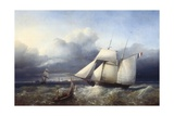 The Ship Charles V in a Storm Posters by Petrus Weyts
