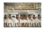 Funeral of Ramose, Vizier of Thebes in the Reign of Amenhotep III Print