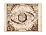 Representation of the Ptolemaic Universe Posters by Andreas Cellarius