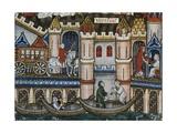 Paris in 1300S Art