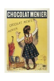 Advertisement Sign for 'Chocolat Menier', 1893 Posters