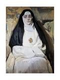A Nun Posters af Joaquín Sorolla y Bastida