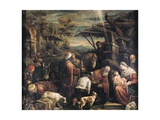 Adoration of the Magi Print by Francesco Bassano