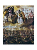 Allegory of the Battle of Lepanto Poster von Paolo Veronese