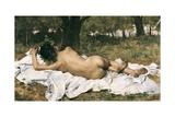 Young Bacchus, 1872 Prints by Joaquin Agrasot y Juan