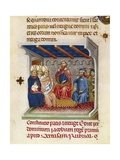 King James I Chairing the Cortes Posters