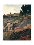 Breton Eve or Melancholy Giclee Print by Paul Serusier