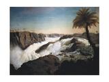 Paulo Alfonso Falls, with the Iguazu Falls, in Brazil, 1850 Art