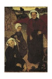 Breton Women Poster by Maurice Denis