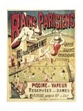 Bains Parisians Posters by Emile Levy