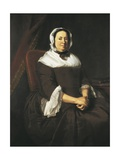 Portrait of Mrs. Samuel Hill Prints by John Singleton Copley