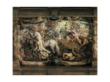 Triumph of the Church over Fury, Hatred and Discord Prints by Peter Paul Rubens